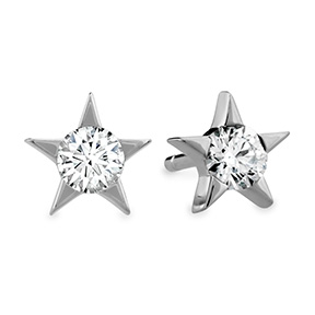 Illa Diamond Stud Earrings